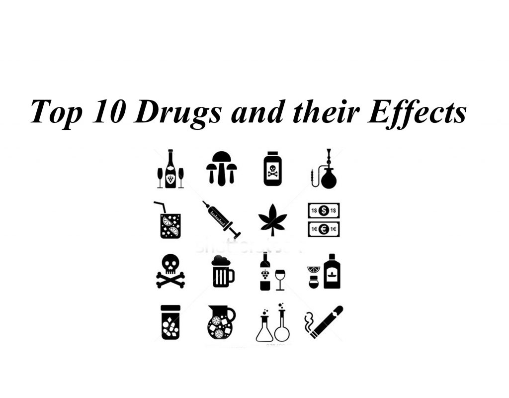 top ten drugs and their effects