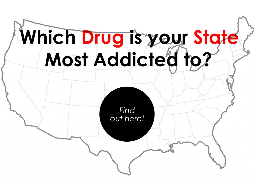 which drug is your state most addicted