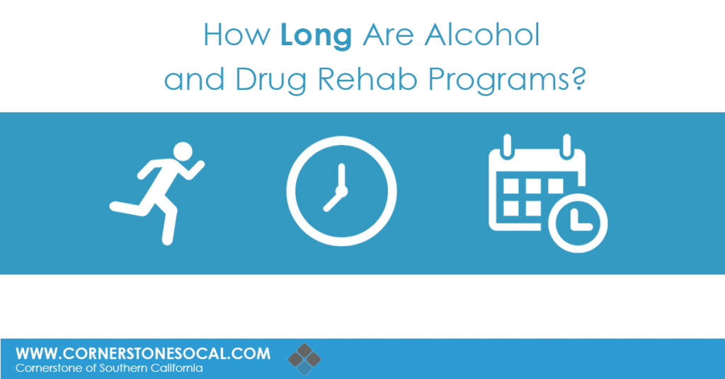 how long are aclohol and drug rehab programs